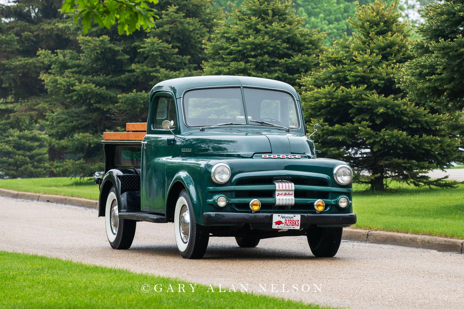 antique truck, dodge, vintage truck,1950 Dodge B-2-B 1/2 ton Pickup, photo
