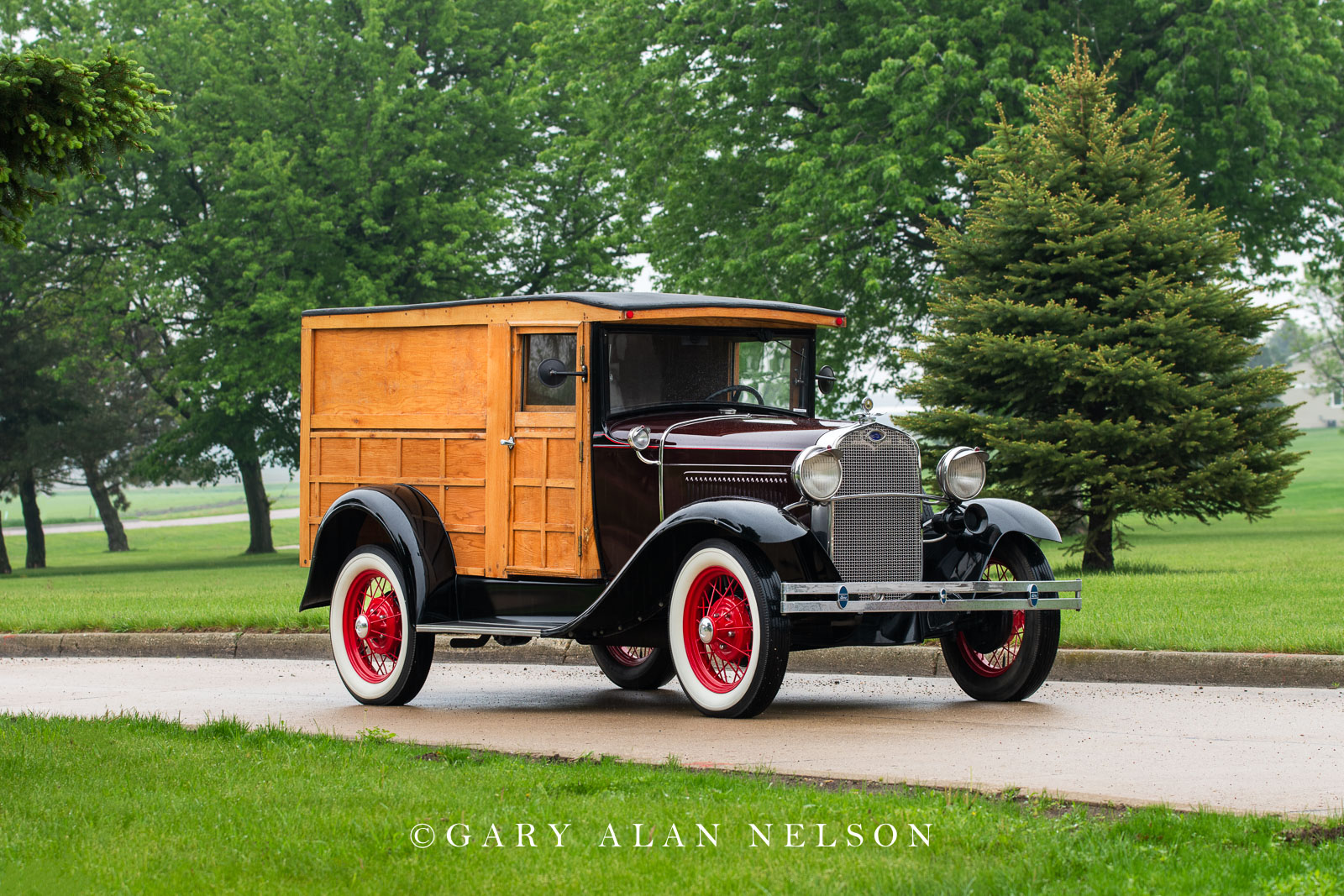 1930 Ford Model A Woodie Panel Truck