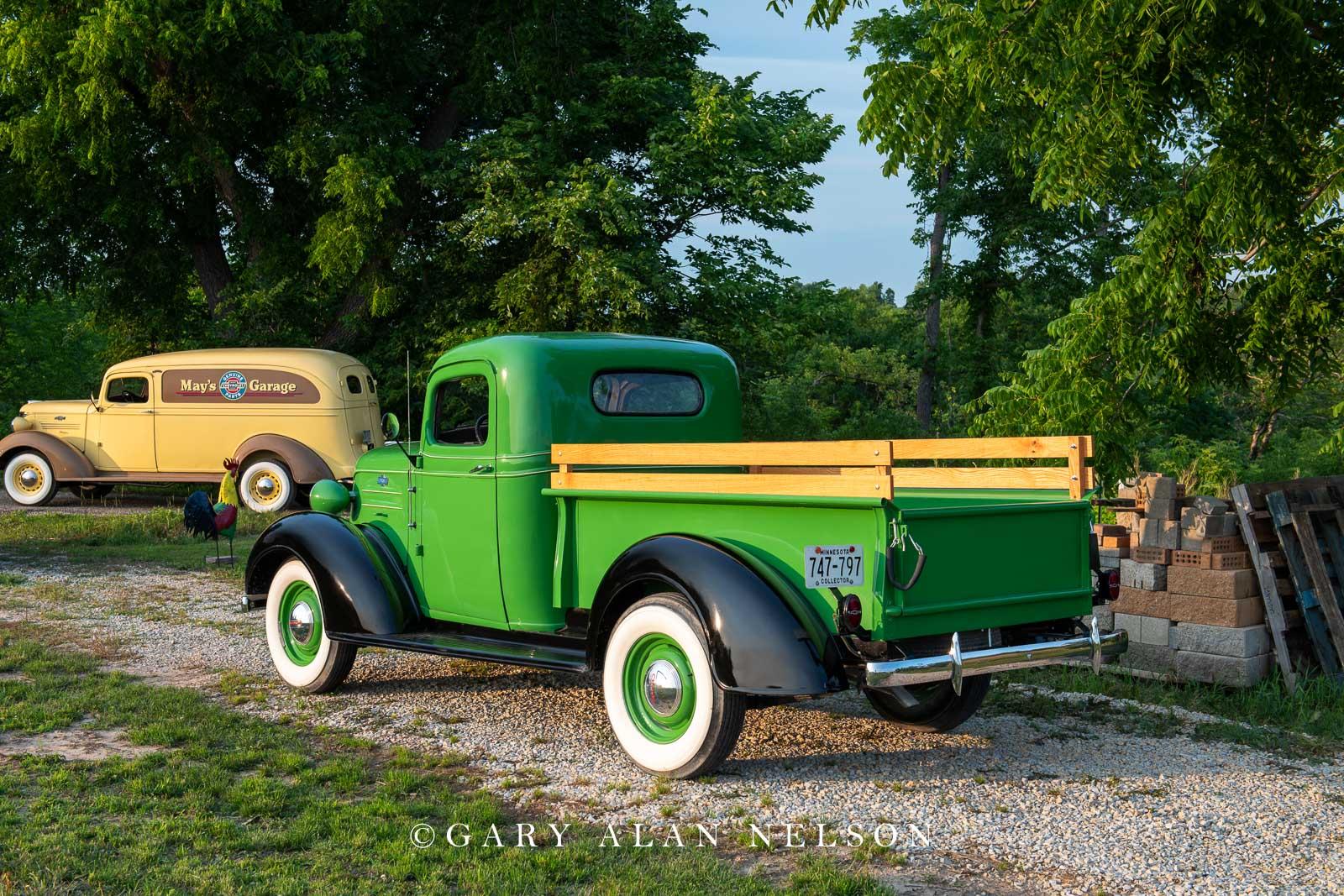 1937 Chevrolet 1/2 ton pickup.